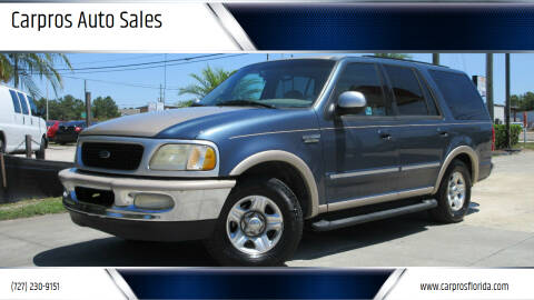 1998 Ford Expedition for sale at Carpros Auto Sales in Largo FL