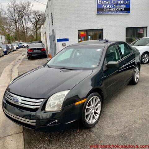 2009 Ford Fusion for sale at Best Choice Auto Sales in Virginia Beach VA