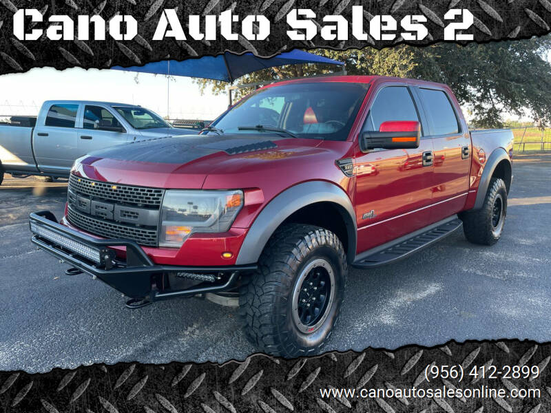 2014 Ford F-150 for sale at Cano Auto Sales 2 in Harlingen TX