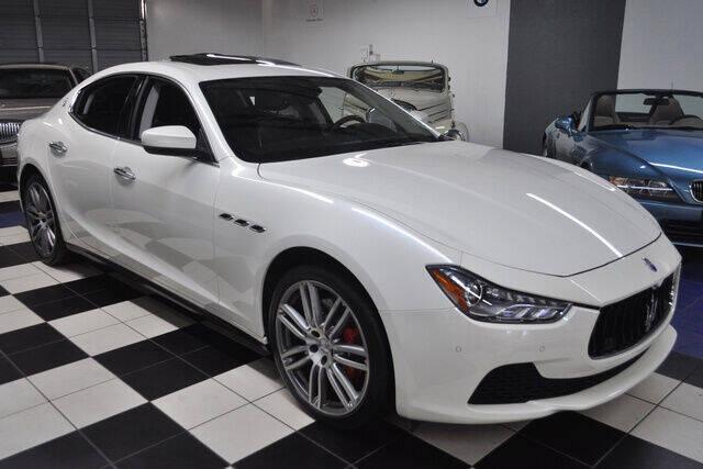 2017 Maserati Ghibli for sale at Podium Auto Sales Inc in Pompano Beach FL