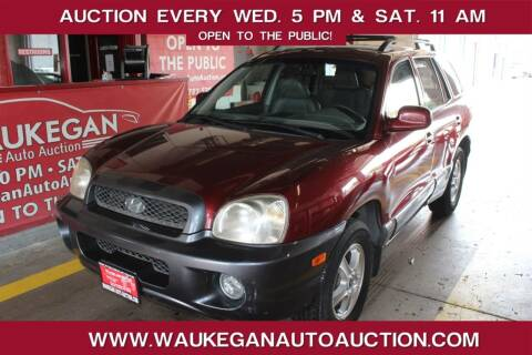 2002 Hyundai Santa Fe for sale at Waukegan Auto Auction in Waukegan IL