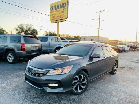 2016 Honda Accord for sale at Grand Auto Sales in Tampa FL