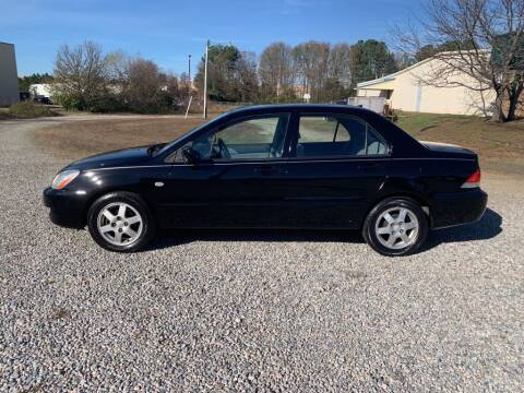 2006 Mitsubishi Lancer for sale at MEEK MOTORS in North Chesterfield VA