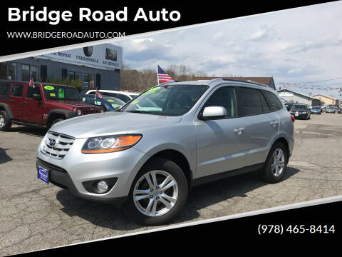 2011 Hyundai Santa Fe for sale at Bridge Road Auto in Salisbury MA