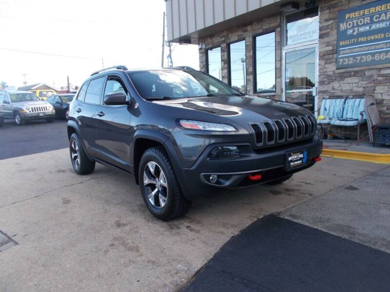 2014 Jeep Cherokee for sale at Preferred Motor Cars of New Jersey in Keyport NJ