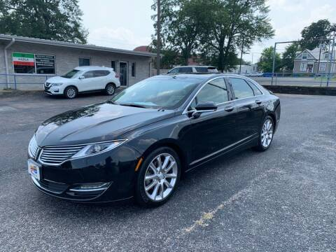 2015 Lincoln MKZ for sale at Brannon Motors Inc in Marshall TX