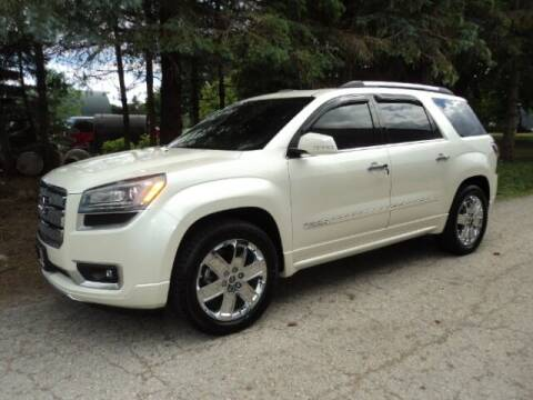 2015 GMC Acadia for sale at HUSHER CAR COMPANY in Caledonia WI