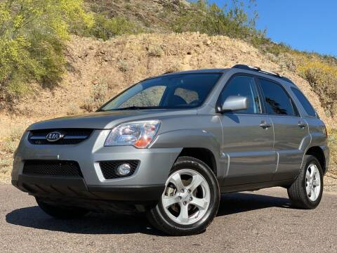 2010 Kia Sportage for sale at Baba's Motorsports, LLC in Phoenix AZ