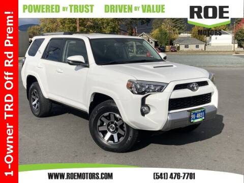 2018 Toyota 4Runner for sale at Roe Motors in Grants Pass OR