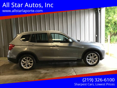 2014 BMW X3 for sale at All Star Autos, Inc in La Porte IN