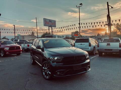 2014 Dodge Durango for sale at Lion's Auto INC in Denver CO