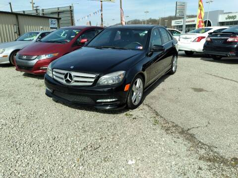 2011 Mercedes-Benz C-Class for sale at Sissonville Used Cars in Charleston WV