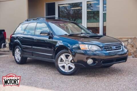 2005 Subaru Outback for sale at Mcandrew Motors in Arlington TX