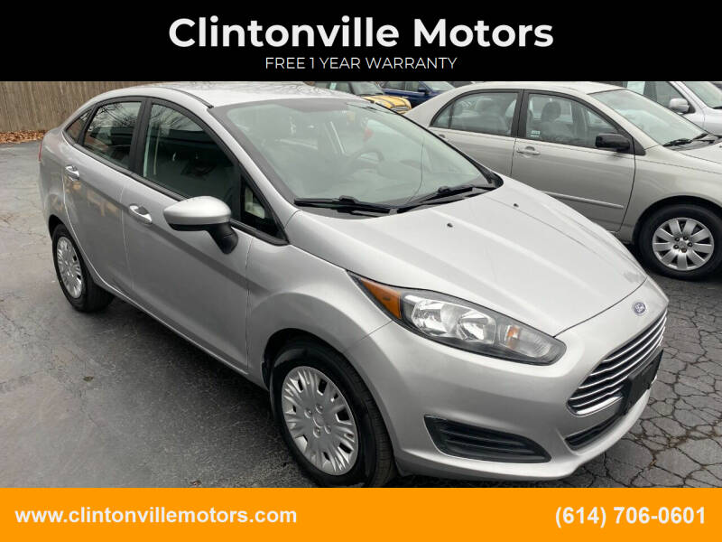 2016 Ford Fiesta for sale at Clintonville Motors in Columbus OH