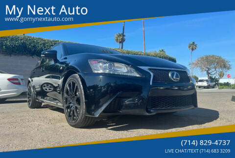 2013 Lexus GS 350 for sale at My Next Auto in Anaheim CA