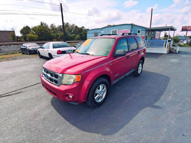 2008 Ford Escape for sale at DISCOUNT AUTO SALES in Murfreesboro TN