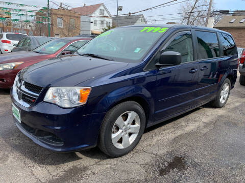 2013 Dodge Grand Caravan for sale at Barnes Auto Group in Chicago IL