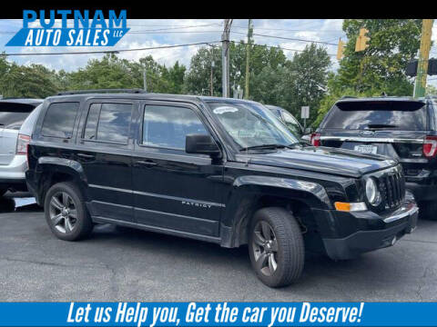 2015 Jeep Patriot for sale at PUTNAM AUTO SALES INC in Marietta OH