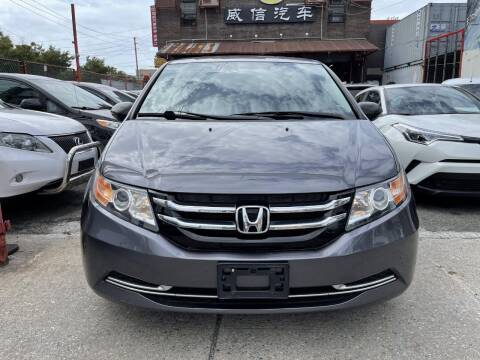 2016 Honda Odyssey for sale at TJ AUTO in Brooklyn NY