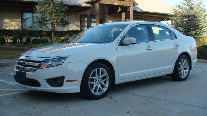 2012 Ford Fusion for sale at Red Rock Auto LLC in Oklahoma City OK