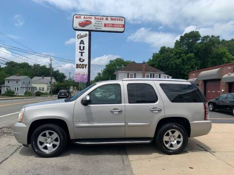 2007 GMC Yukon for sale at 401 Auto Sales & Service in Smithfield RI