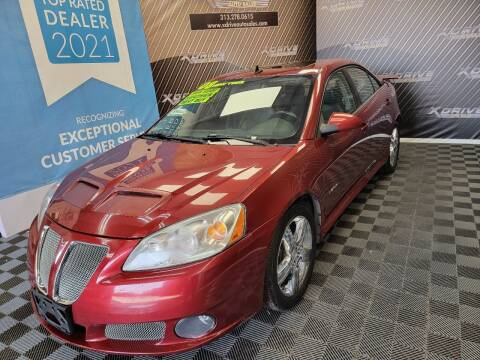 2008 Pontiac G6 for sale at X Drive Auto Sales Inc. in Dearborn Heights MI