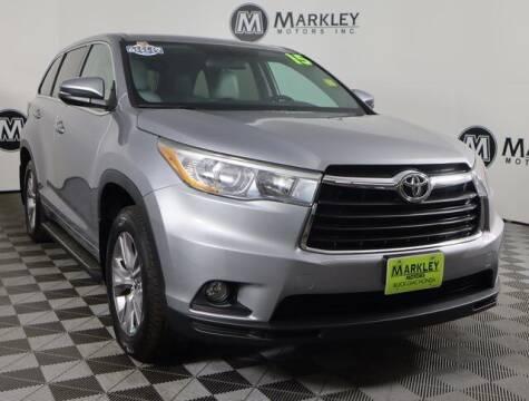 2016 Toyota Highlander for sale at Markley Motors in Fort Collins CO