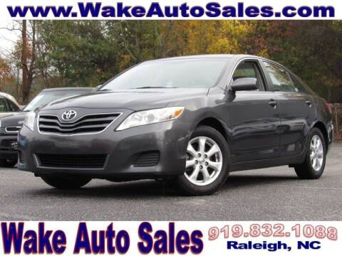 2011 Toyota Camry for sale at Wake Auto Sales Inc in Raleigh NC