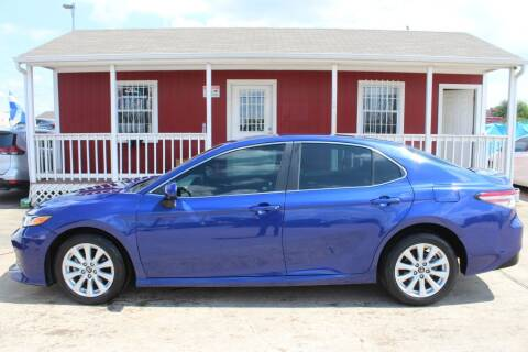 2018 Toyota Camry for sale at AMT AUTO SALES LLC in Houston TX