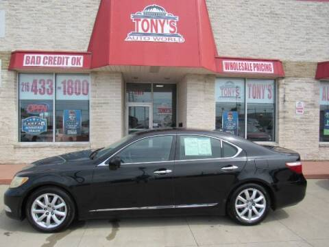 2008 Lexus LS 460 for sale at Tony's Auto World in Cleveland OH