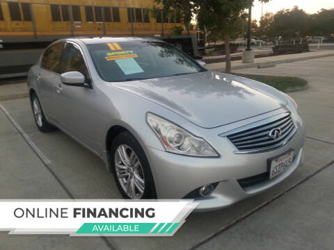 2011 Infiniti G25 Sedan for sale at Super Cars Sales Inc #1 in Oakdale CA