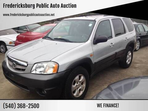 2004 Mazda Tribute for sale at FPAA in Fredericksburg VA