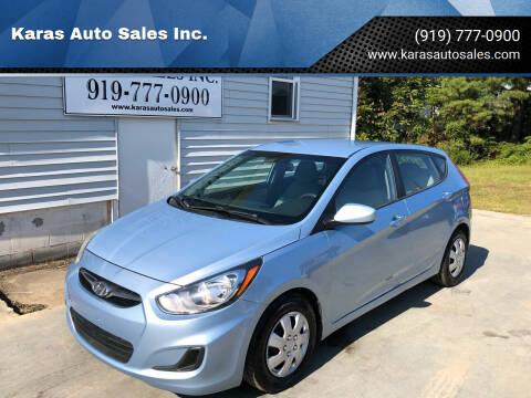 2012 Hyundai Accent for sale at Karas Auto Sales Inc. in Sanford NC