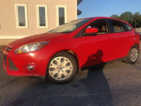2012 Ford Focus for sale at Beckham's Used Cars in Milledgeville GA