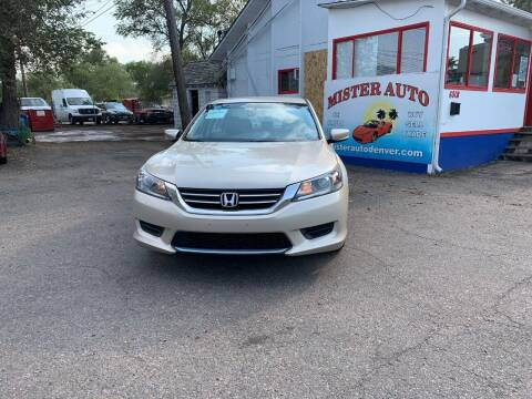 2015 Honda Accord for sale at Mister Auto in Lakewood CO