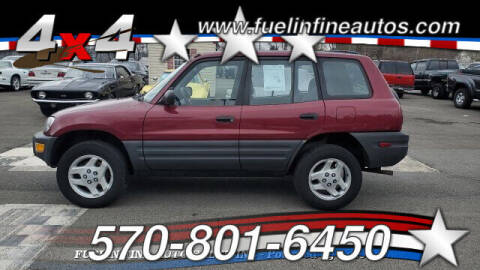 1998 Toyota RAV4 for sale at FUELIN FINE AUTO SALES INC in Saylorsburg PA