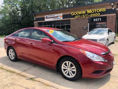 2011 Hyundai Sonata for sale at Godwin Motors in Laurel MD