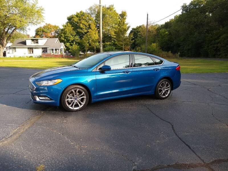2017 Ford Fusion for sale at Depue Auto Sales Inc in Paw Paw MI