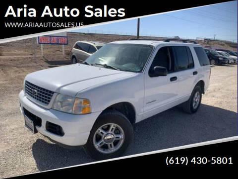 2004 Ford Explorer for sale at Aria Auto Sales in El Cajon CA