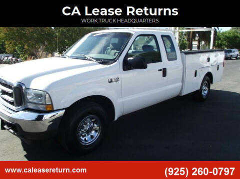 2004 Ford F-250 Super Duty for sale at CA Lease Returns in Livermore CA