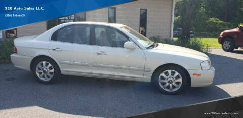 2005 Kia Optima for sale at 220 Auto Sales LLC in Madison NC