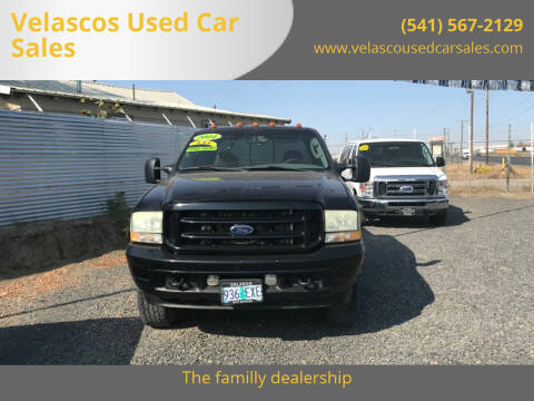 2004 Ford F-250 Super Duty for sale at Velascos Used Car Sales in Hermiston OR
