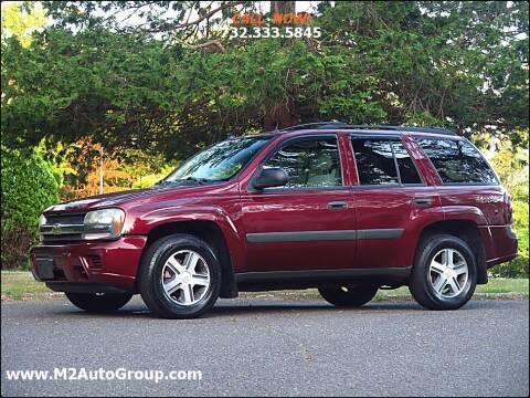 2005 Chevrolet TrailBlazer for sale at M2 Auto Group Llc. EAST BRUNSWICK in East Brunswick NJ