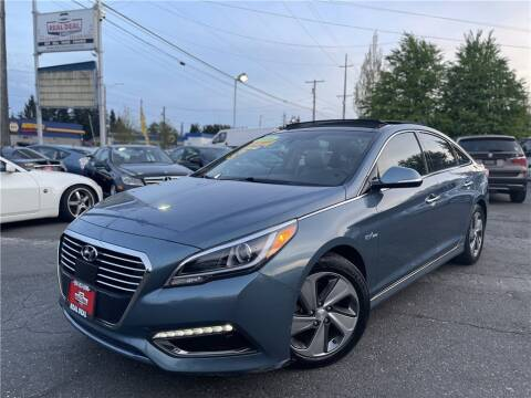 2016 Hyundai Sonata Hybrid for sale at Real Deal Cars in Everett WA