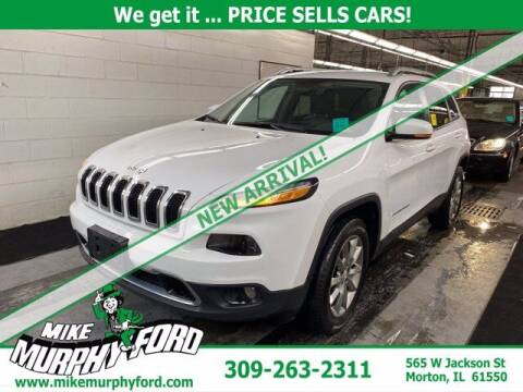 2018 Jeep Cherokee for sale at Mike Murphy Ford in Morton IL