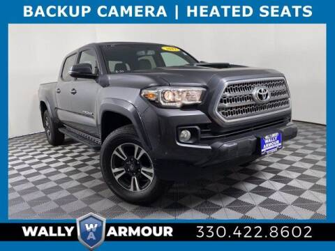 2017 Toyota Tacoma for sale at Wally Armour Chrysler Dodge Jeep Ram in Alliance OH