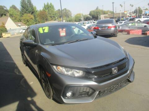 2017 Honda Civic for sale at Quick Auto Sales in Modesto CA