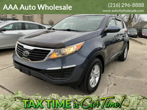 2011 Kia Sportage for sale at AAA Auto Wholesale in Parma OH