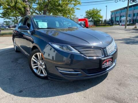 2014 Lincoln MKZ for sale at JerseyMotorsInc.com in Teterboro NJ