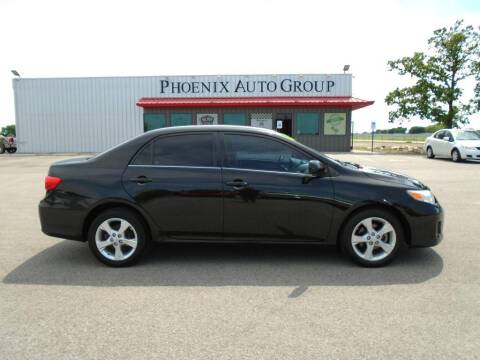 2013 Toyota Corolla for sale at PHOENIX AUTO GROUP in Belton TX
